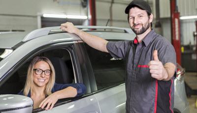 BMW Mechanic with Lady