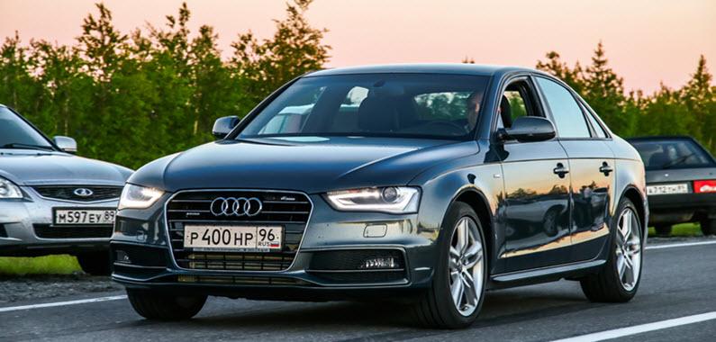 Audi A6 Headlight