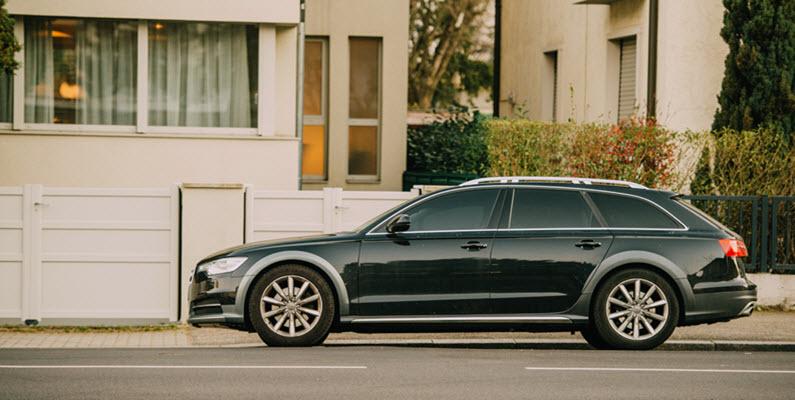 Audi Wagon Car