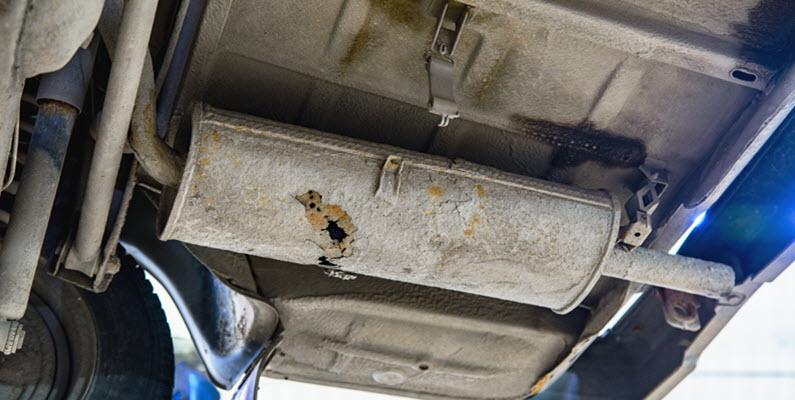 Signs of Muffler Bracket Failure in Volkswagen