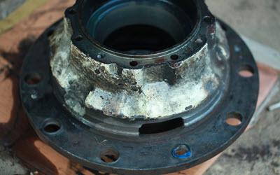Jaguar Wheel Hub Repair