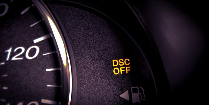 BMW DSC System Warning